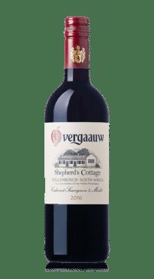 Overgaauw wine - shepherds cottage cabernet