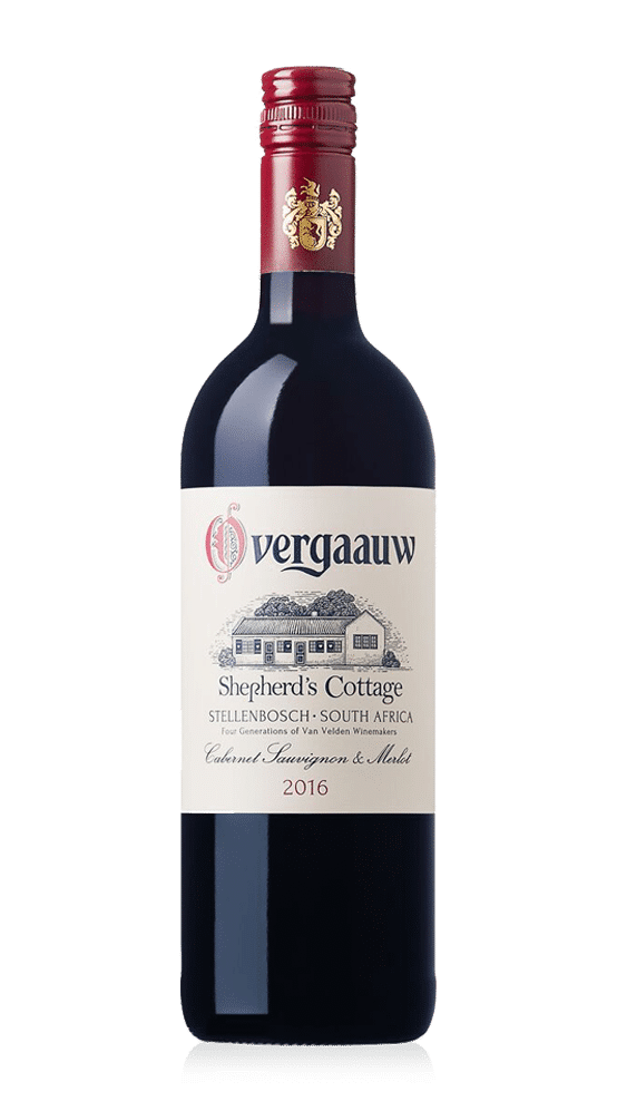 Overgaauw wine - shepherds cottage cabernet